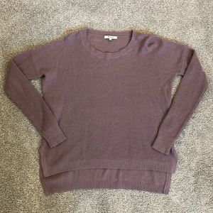 Madewell Lavender Sweater size S